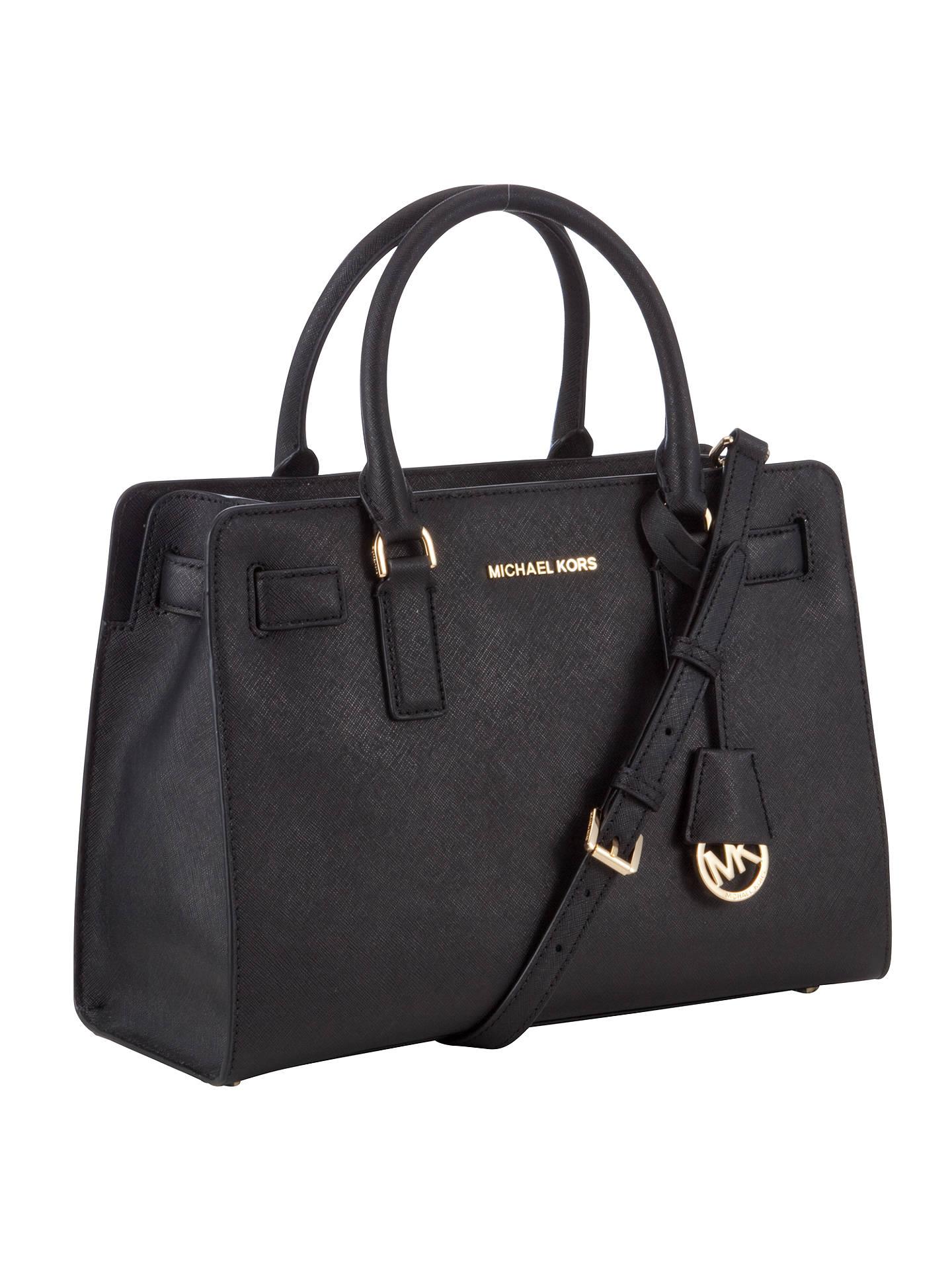 47ca443a5208 ... 50% off buymichael michael kors dillon top zip east west leather  satchel black online at