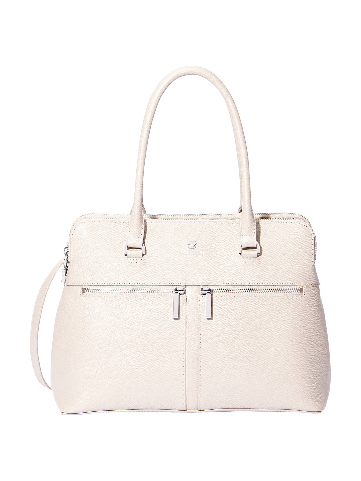 f4ccbc98a5 Modalu Pippa Classic Leather Grab Bag at John Lewis   Partners