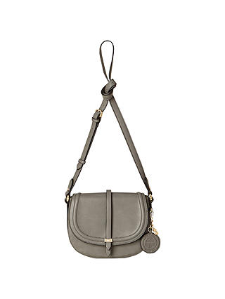 Buy Nica Daisy Mini Saddle Bag, Grey Online at johnlewis.com