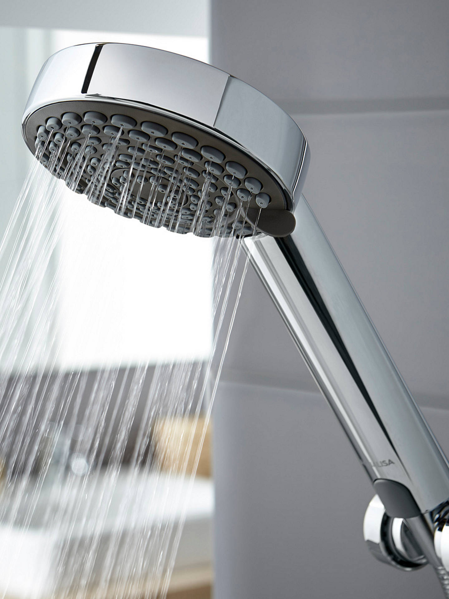 BuyAqualisa Lumi XT 8.5kW Electric Shower with Adjustable Head, Chrome Online at johnlewis.com