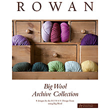 Buy Rowan Big Wool Archive Collection Knitting Book Online at johnlewis.com