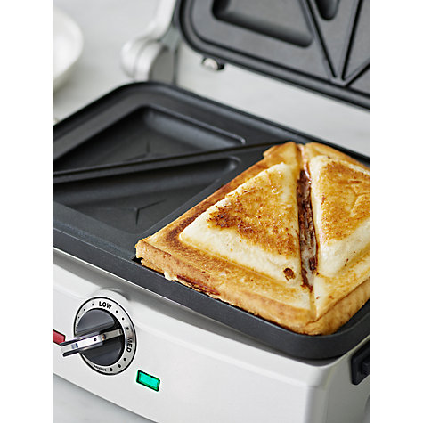 Buy Cuisinart GRSM2U 2-in-1 Grill and Sandwich Maker Online at johnlewis.com