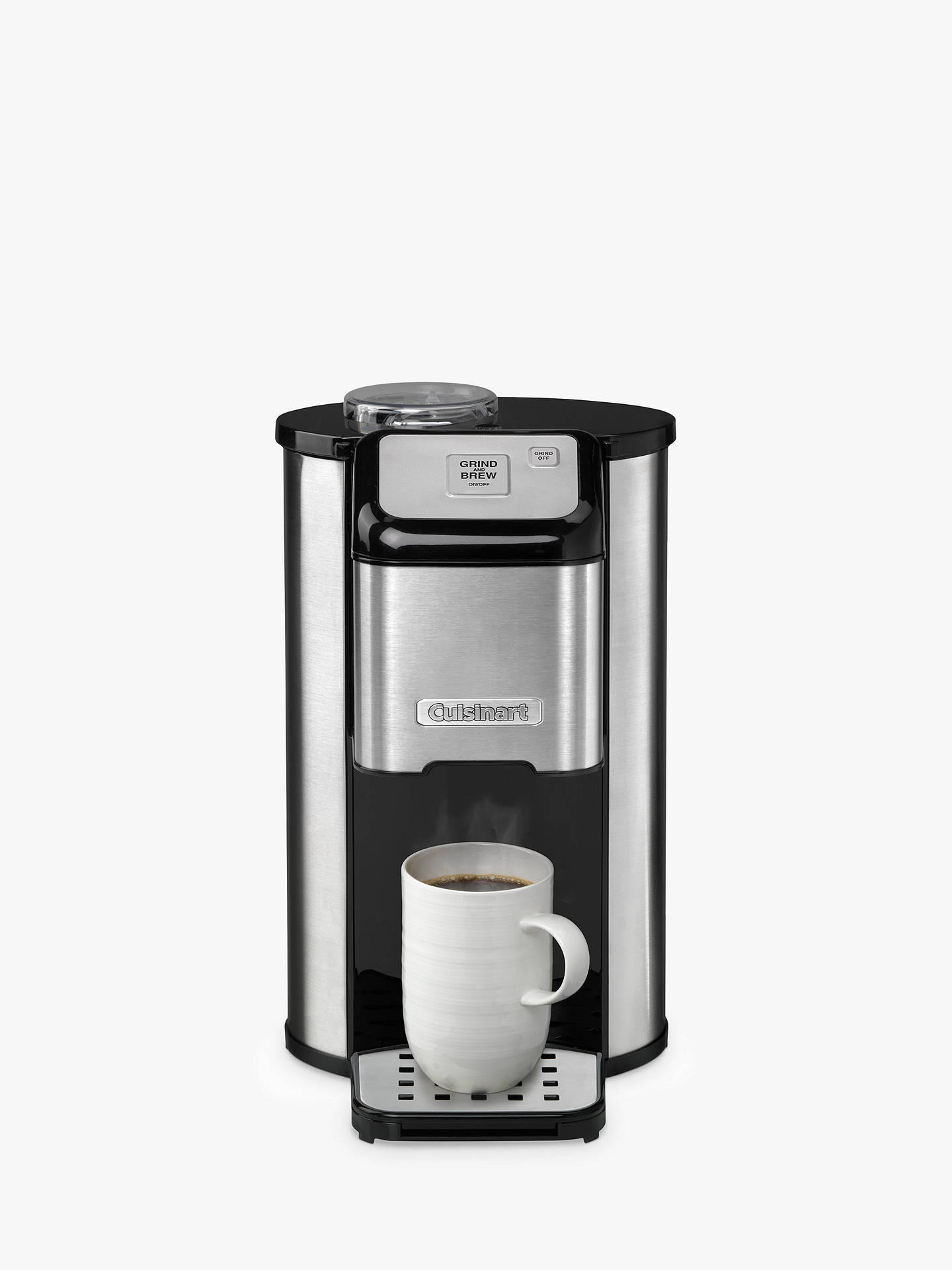 Cuisinart Dgb1u Bean To Cup Coffee Machine Stainless Steel At John