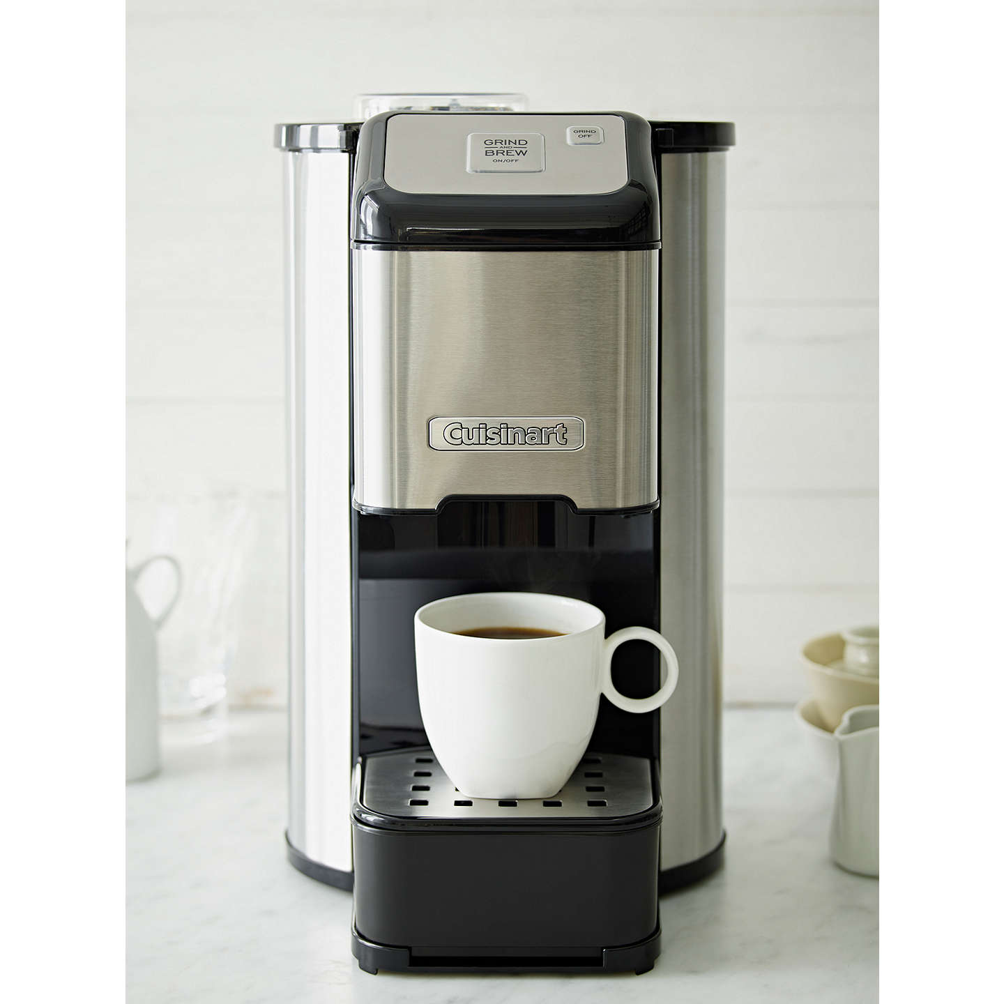 cuisinart dgb1u bean to cup coffee machine stainless. Black Bedroom Furniture Sets. Home Design Ideas