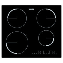 Buy Zanussi ZEL6640FBA 60cm Electric Induction Hob Online at johnlewis.com