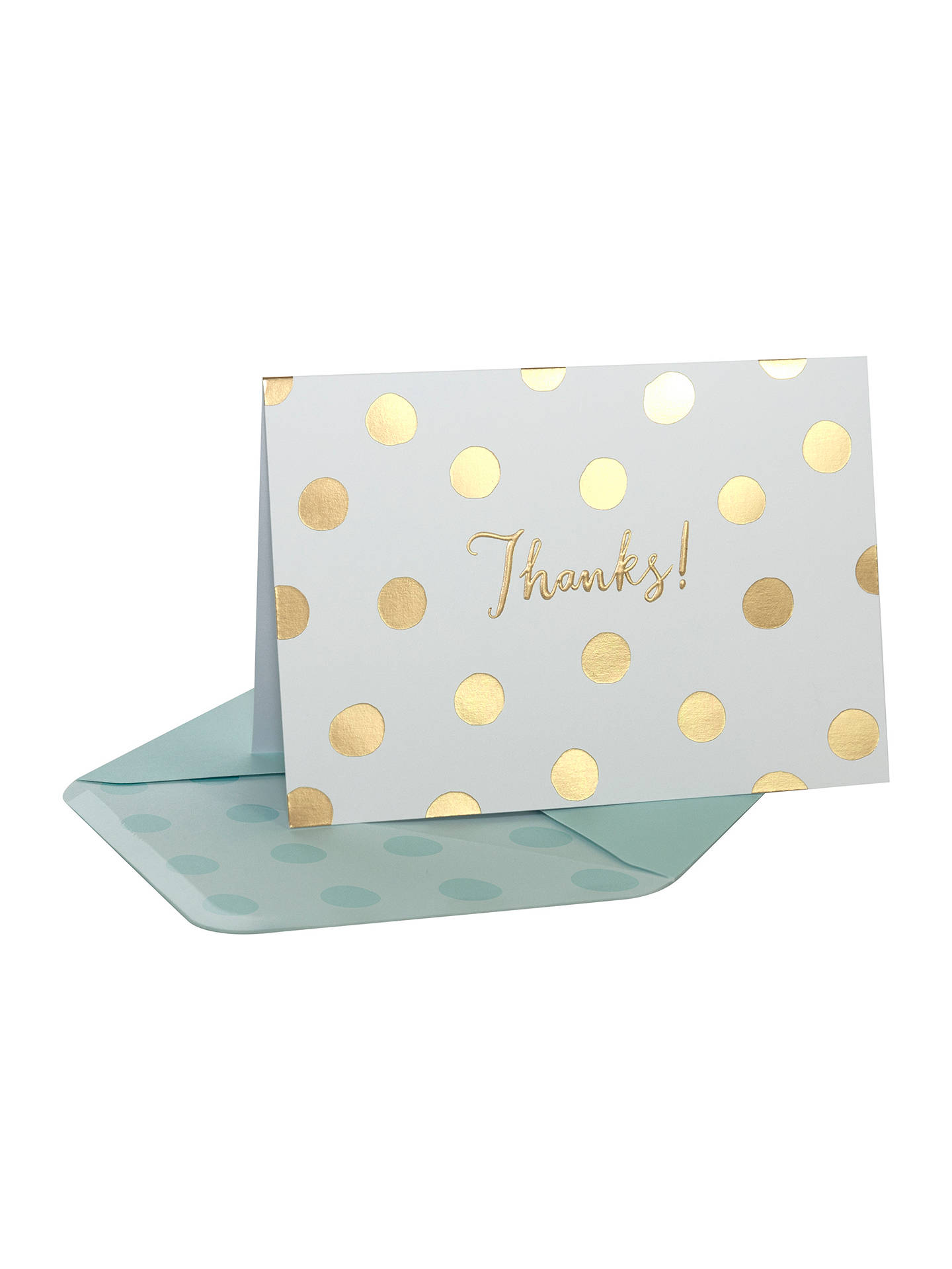 BuyPortico Foiled Thank You Notecards, Box of 10 Online at johnlewis.com