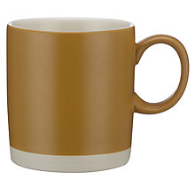 Buy John Lewis Croft Collection Coffee Mug, Honey Online at johnlewis.com