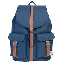 Buy Herschel Supply Co. Dawson Backpack, Navy Online at johnlewis.com