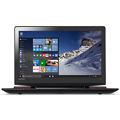 Image of Lenovo Ideapad Y700 Gaming Laptop, Intel Core i7, 16GB RAM, 256GB, NVIDIA GTX 960M, 15.6 Full HD, Black