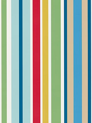 Scion Jelly Tot Stripe Wallpaper