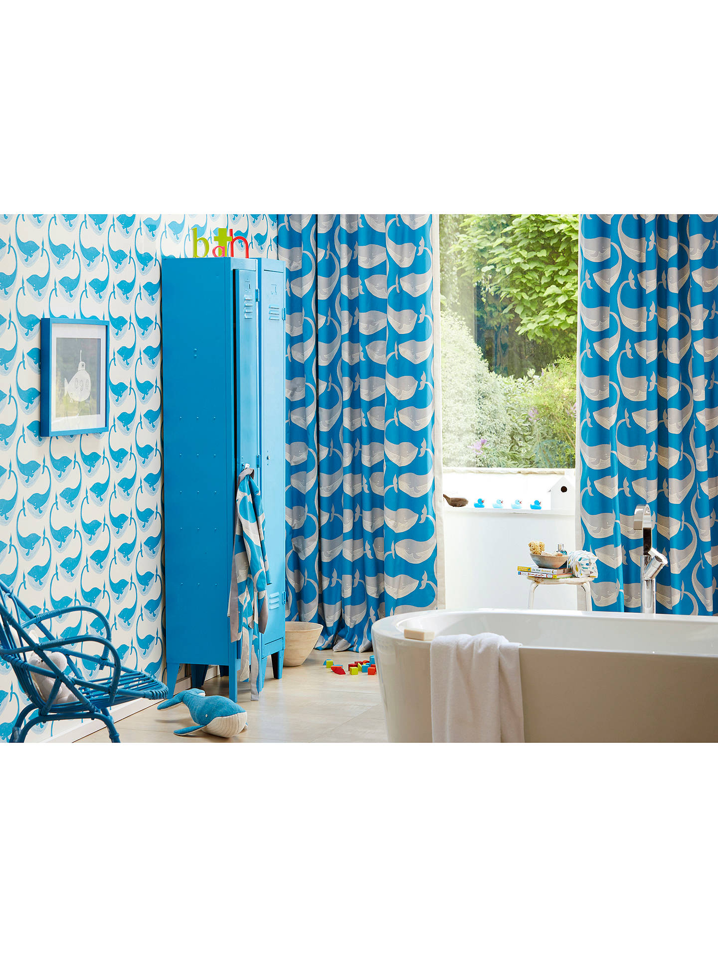 BuyScion Whale of a Time Wallpaper, 111273 Online at johnlewis.com