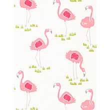 Buy Scion Felicity Flamingo Wallpaper Online at johnlewis.com