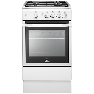 Image of INDESIT I5GG(W) 50 cm Gas Cooker - White, White