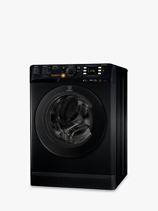 Indesit Innex XWDE751480XK Freestanding Washer Dryer, 7kg Wash/5kg Dry Load, A Energy Rating, 1400rpm Spin, Black