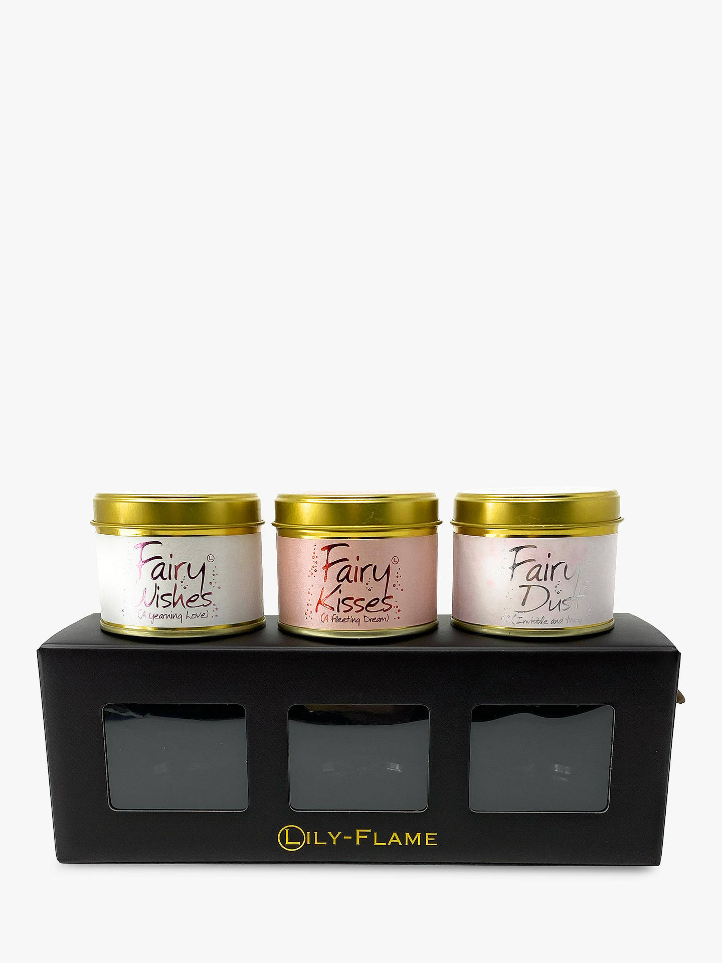 Buy Lily-flame 'Fairy' Mini Tin Scented Gift Set Online at johnlewis.com