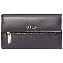 Buy Modalu Erin Contintental Leather Wallet Online at johnlewis.com