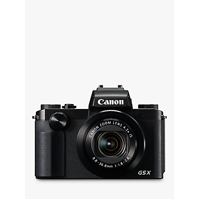 Canon PowerShot G5 X Digital Camera, 1080p, 20.2 MP, 4.2x Optical Zoom, NFC, Wi-Fi, 3 Vari-Angle Touch Screen