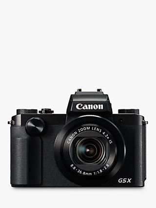 "Canon PowerShot G5 X Digital Camera, 1080p, 20.2 MP, 4.2x Optical Zoom, NFC, Wi-Fi, 3"" Vari-Angle Touch Screen"