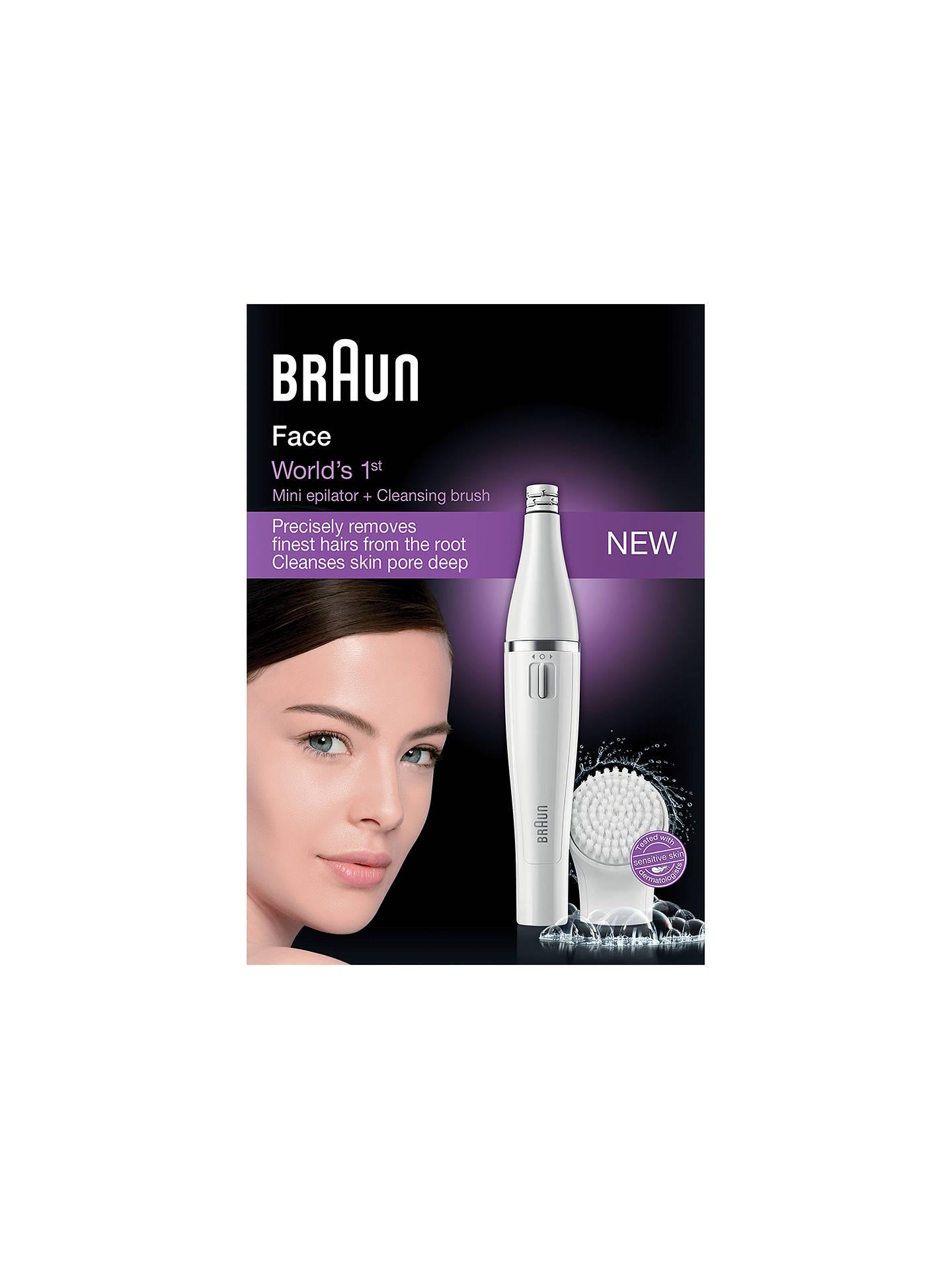 Braun epil facial hair removal