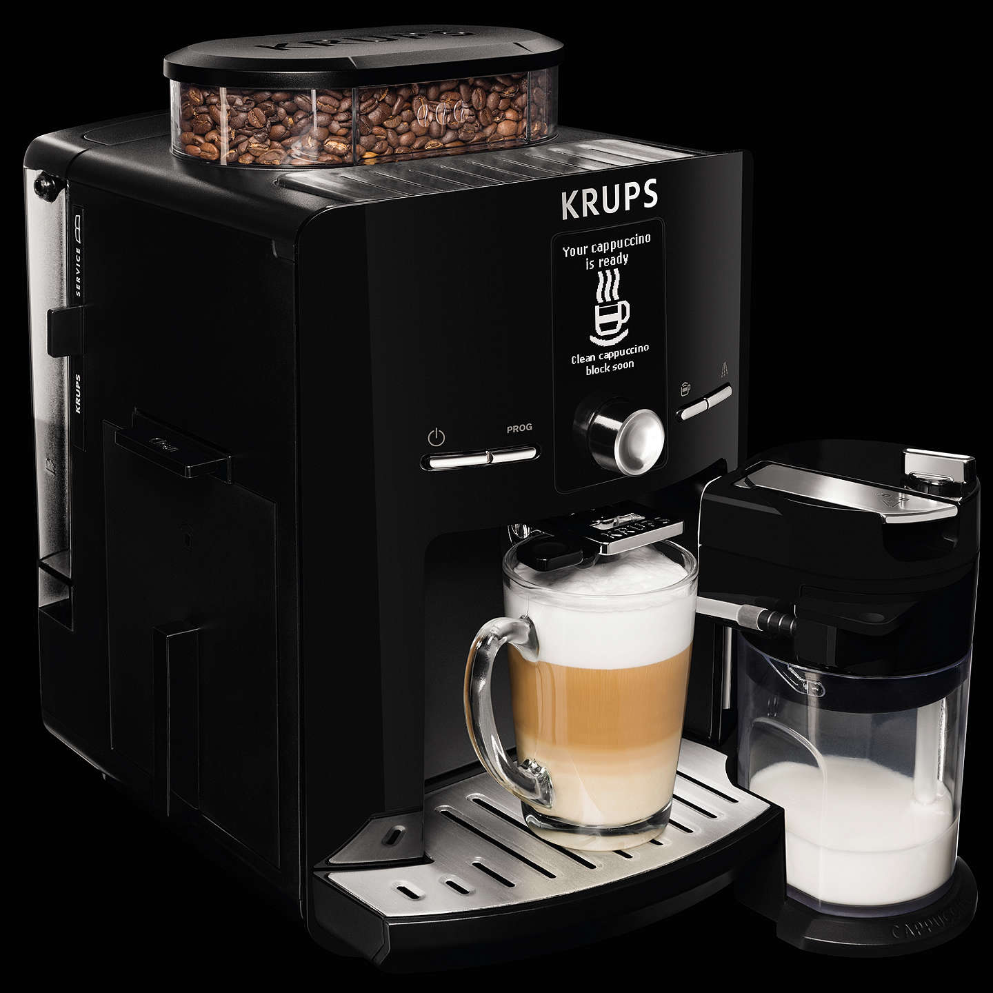 Buykrups Ea8298 Espresseria Bean To Cup Coffee Machine, Black Online At Johnlewis