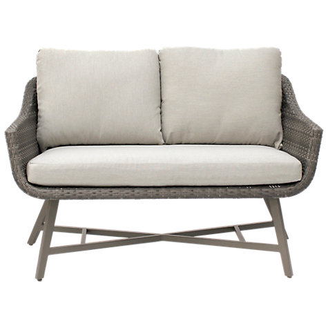 Buy KETTLER LaMode Lounge 2 Seater Garden Sofa With Cushions Online At  Johnlewis.com ...