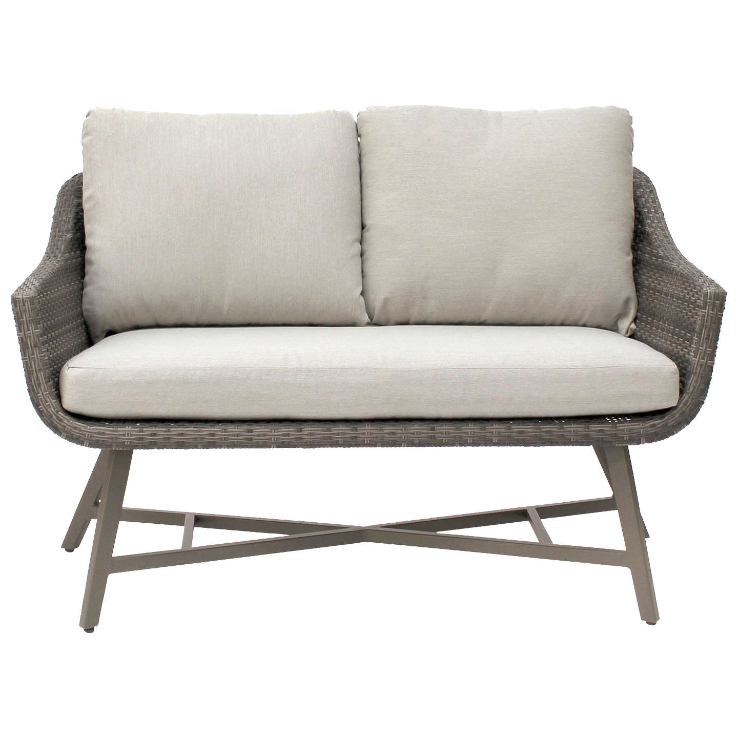 kettler lamode lounge 2 seater garden sofa with cushions at john lewis. Black Bedroom Furniture Sets. Home Design Ideas