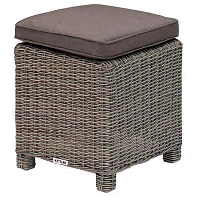 KETTLER Palma Garden Foot Stool with Cushion