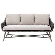Buy KETTLER LaMode Lounge 3-Seater Garden Sofa with Cushions Online at johnlewis.com