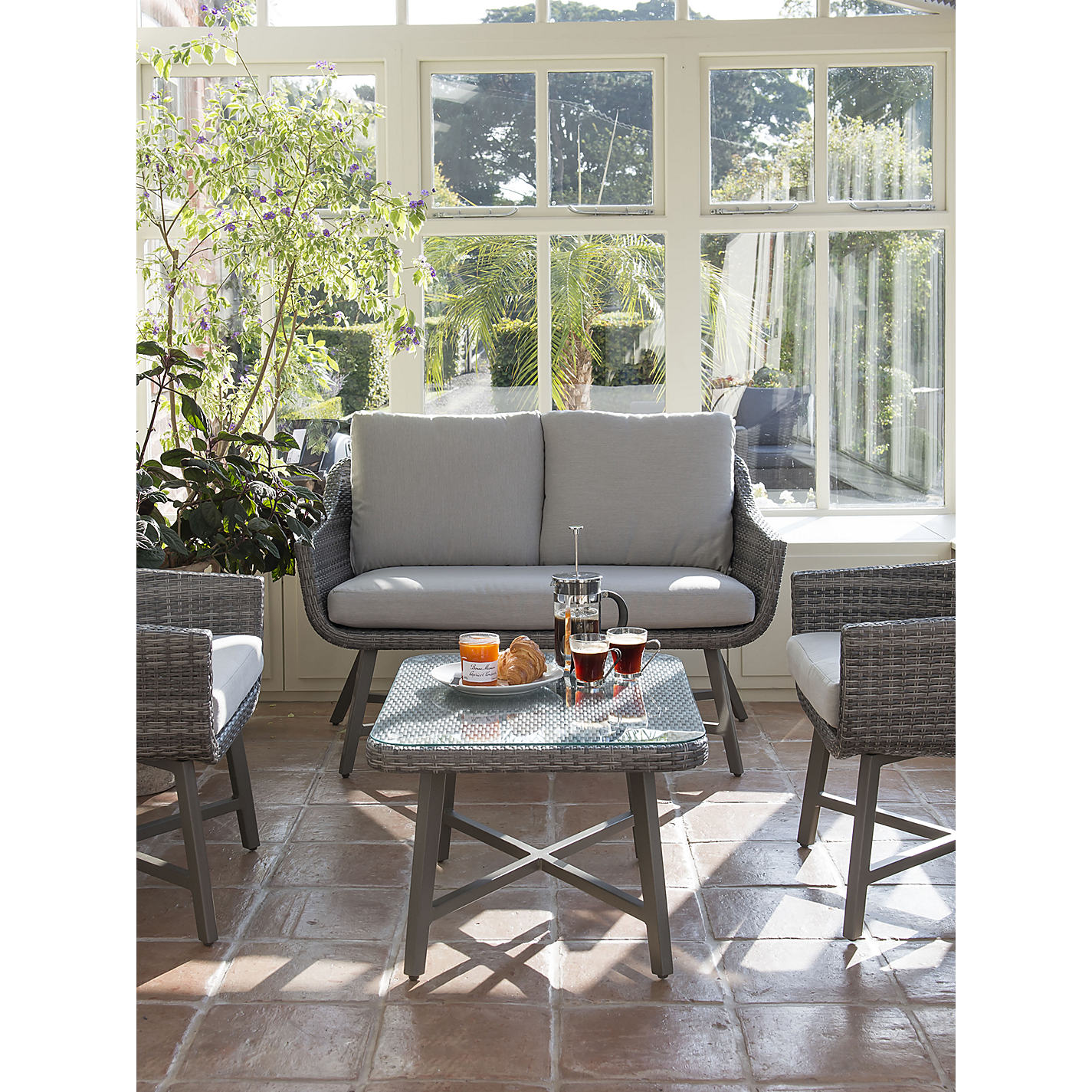 buy kettler lamode outdoor furniture range online at johnlewiscom - Garden Furniture The Range