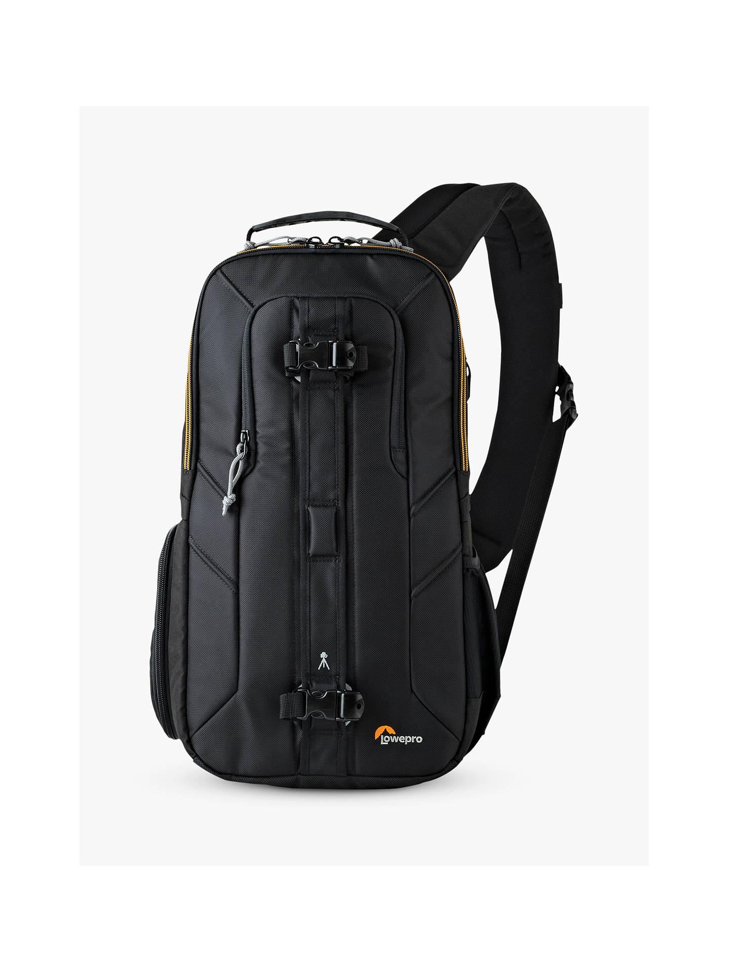 BuyLowepro Slingshot Edge 250 AW Camera and Tablet Backpack, Black Online  at johnlewis.com ... 48f862d2ce