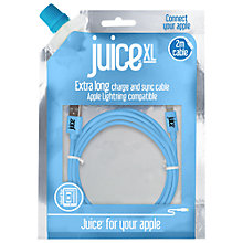 Buy Juice XL 2-Metre USB Charge and Sync Cable for Apple Lightning Devices Online at johnlewis.com