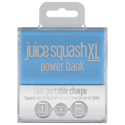 Juice Squash XL Power Bank Portable Charger for iPhone 6/Samsung 5G