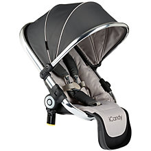 Buy iCandy Peach Blossom Converter Seat, Truffle 2 Online at johnlewis.com