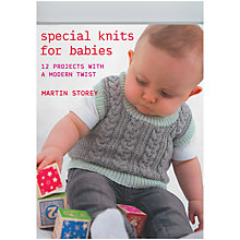 Buy Rowan Special Knits For Babies Knitting Pattern Book Online at johnlewis.com