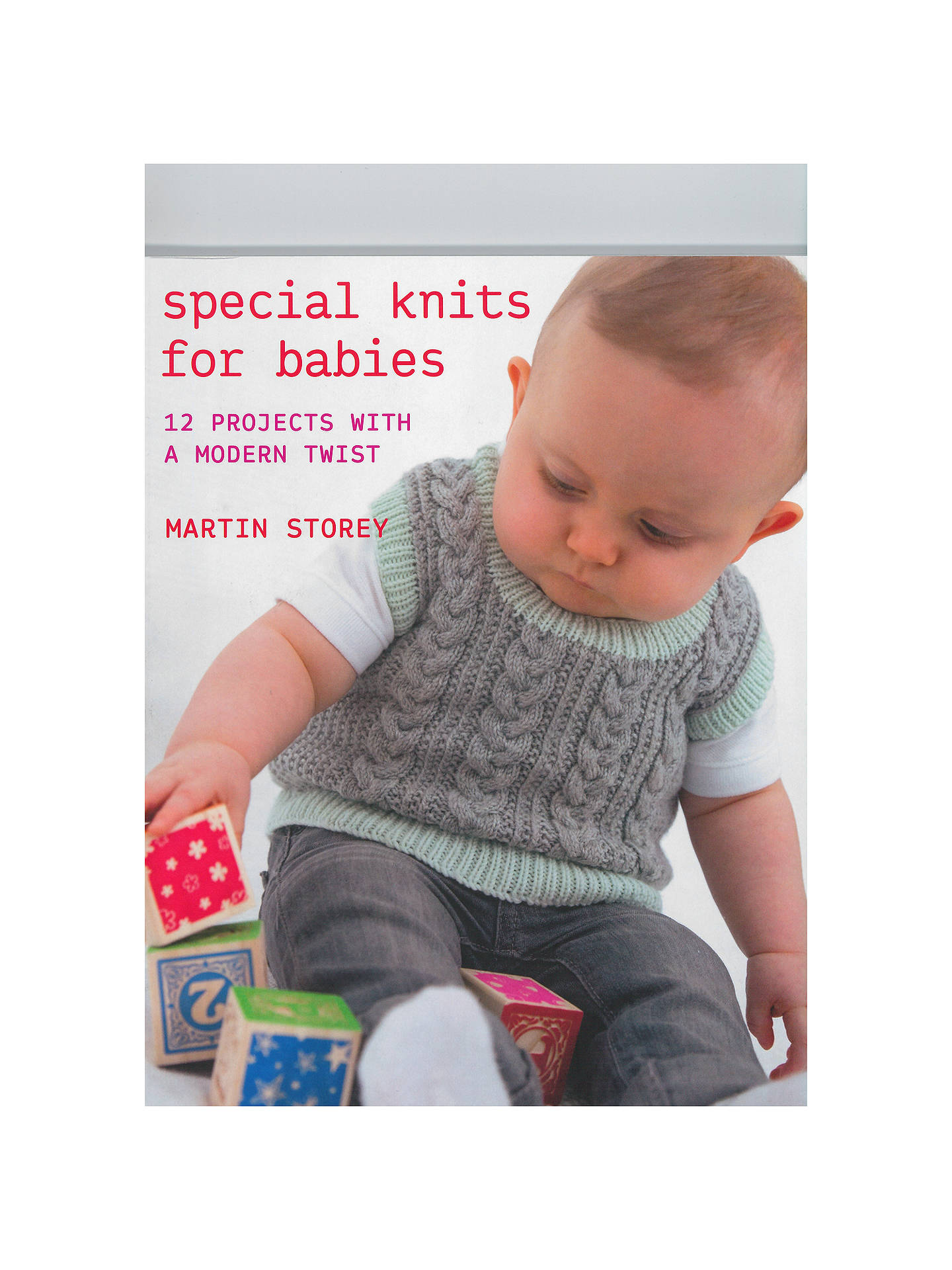a0b12bd3f75b Rowan Special Knits For Babies Knitting Pattern Book at John Lewis ...