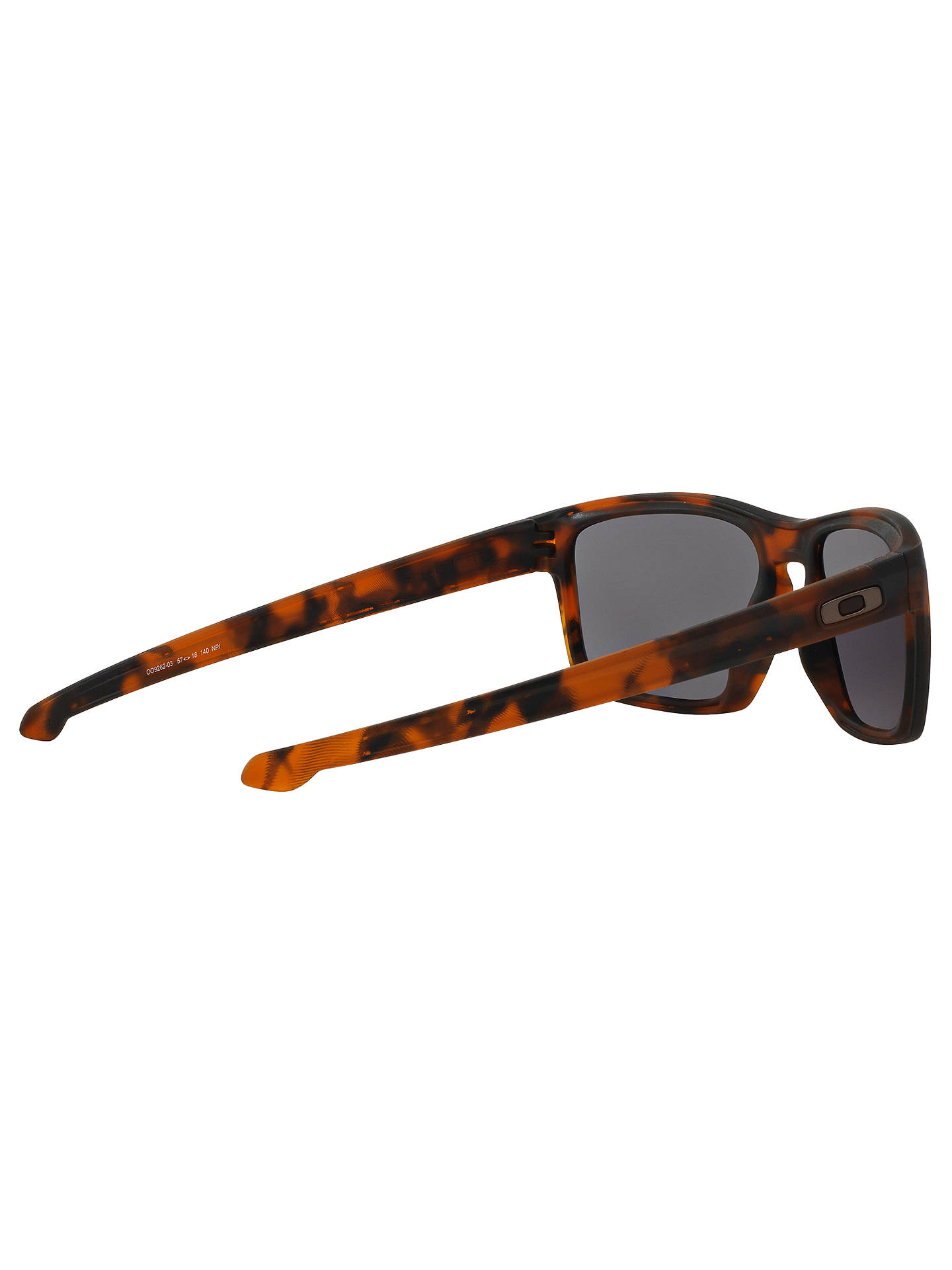 Buy Oakley OO9262 Rectangular Sunglasses, Brown Online at johnlewis.com