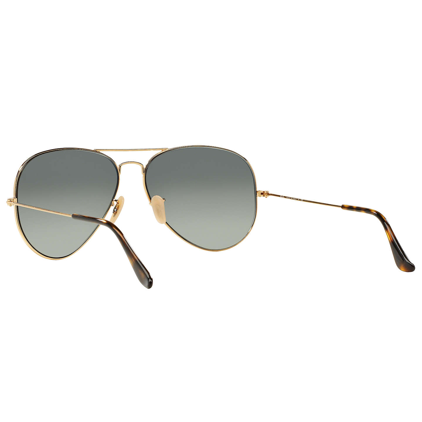 BuyRay-Ban RB3025 Iconic Gradient Aviator Sunglasses, Grey Online at johnlewis.com