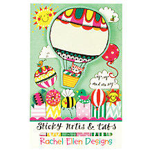 Buy Rachel Ellen Up, Up And Away Sticky Notes & Tabs Online at johnlewis.com