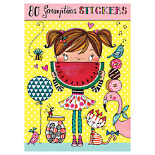 Buy Rachel Ellen Scrumptious Stickers, Set of 80 Online at johnlewis.com