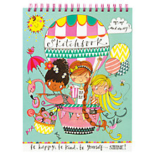 Buy Rachel Ellen Up, Up and Away A4 Sketch Book Online at johnlewis.com