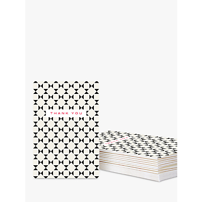 Product photo of Caroline gardner geometric thank you cards pack of 10