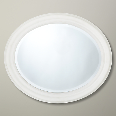 Croft Collection Oval Mirror, 50 x 40cm