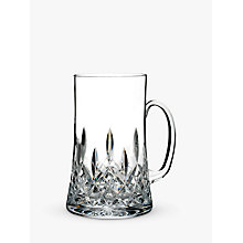 Buy Waterford Lismore Connoisseur Cut Lead Crystal Beer Mug With Handle, 557ml Online at johnlewis.com