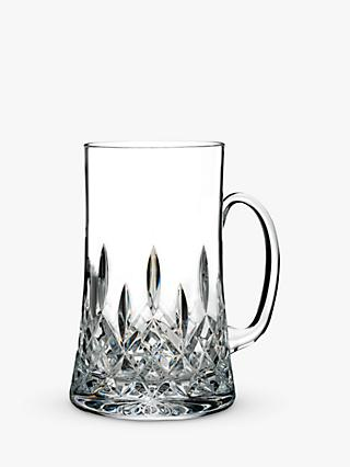 Waterford Lismore Connoisseur Cut Lead Crystal Beer Mug With Handle, 557ml