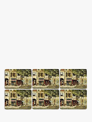 Pimpernel Parisian Scene Placemats, Set of 6