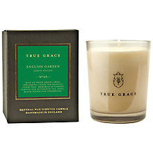 Buy True Grace English Garden Scented Candle Online at johnlewis.com