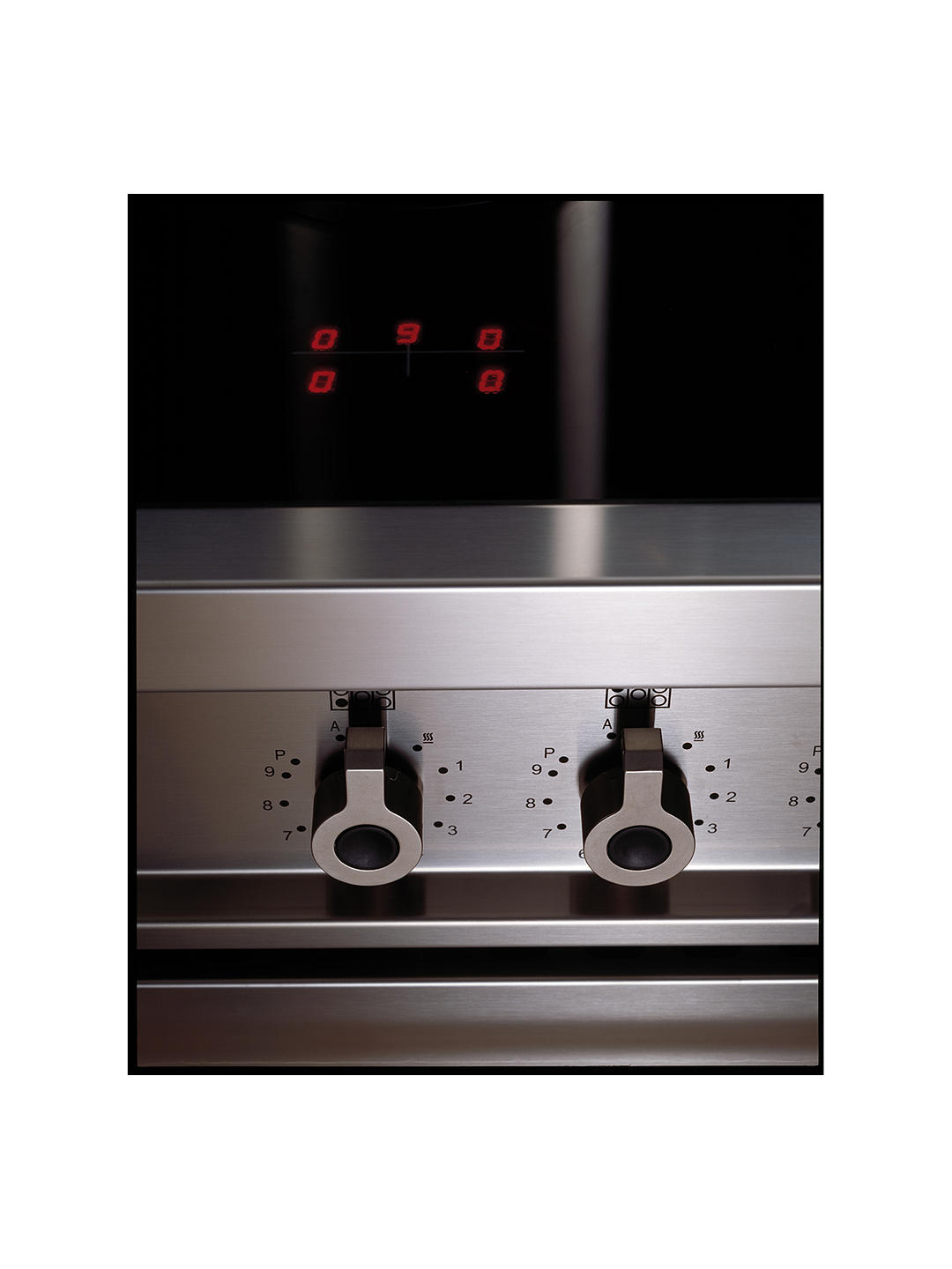 Buy Bertazzoni Professional Series PRO100-5I-MFE-D-BIT 100cm Electric Induction Range Cooker, White Online at johnlewis.com