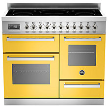 Buy Bertazzoni Professional Series 100cm Electric Induction XG Range Cooker Online at johnlewis.com