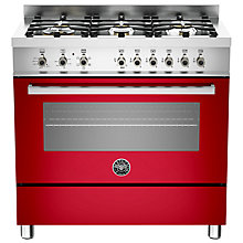 Buy Bertazzoni Professional Series 90cm Dual Energy Single Range Cooker Online at johnlewis.com