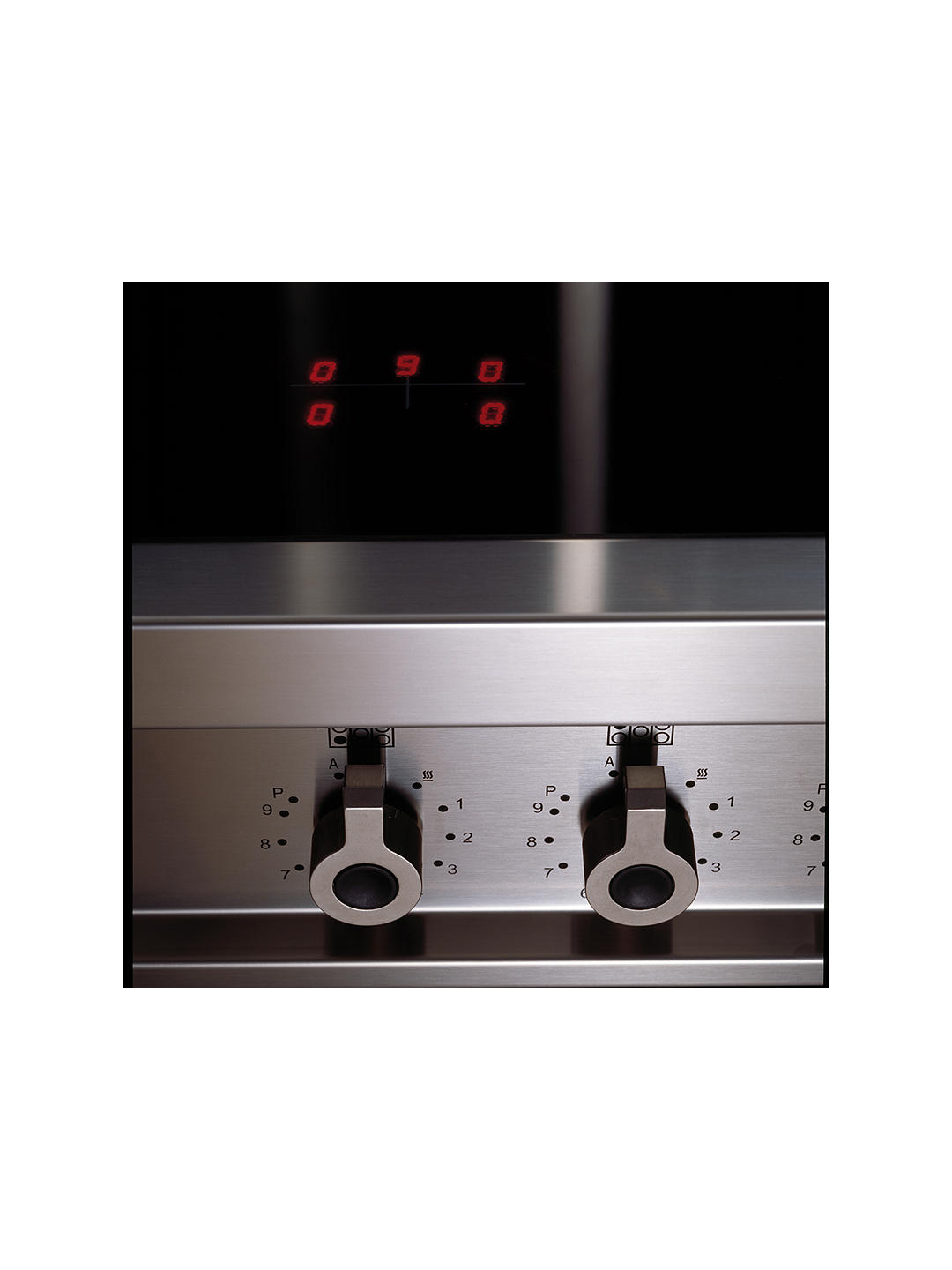Buy Bertazzoni Professional Series PRO90-5I-MFE-S-VIT 90cm Electric Induction Single Range Cooker, Burgundy Online at johnlewis.com